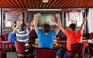 Открытие спорт-бара: бизнес-план