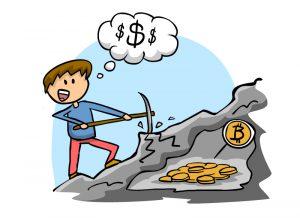 процесс майнинга биткоинов