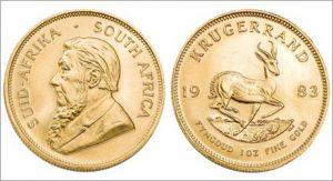 krugerrand монета
