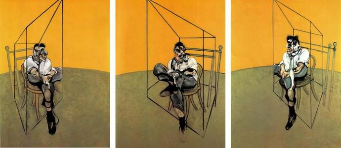 «Три наброска к портрету Люсьена Фрейда»