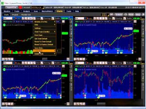 Торговля на фондовых биржах