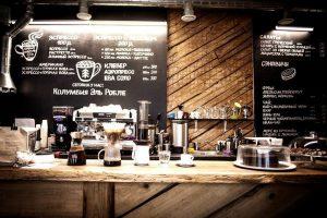 Красивая кофейня