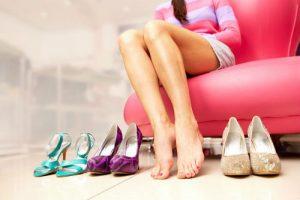 Примерка туфель